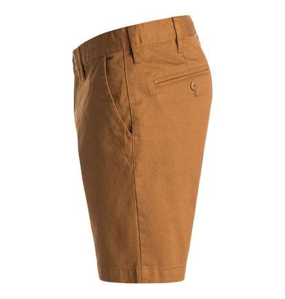 Worker Slim ShortsМужские шорты Worker Slim от DC Shoes. <br>ХАРАКТЕРИСТИКИ: легкая эластичная саржа, узкий крой, скошенные передние карманы, ширинка на молнии. <br>СОСТАВ: 98% хлопок, 2% эластан.<br>