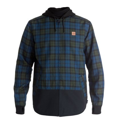 Backwoods Flannel - Riding Shacket  EDYWT03115