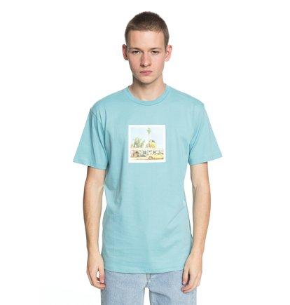 Купить Футболка Viajero - Синий, DC Shoes, 100% хлопок