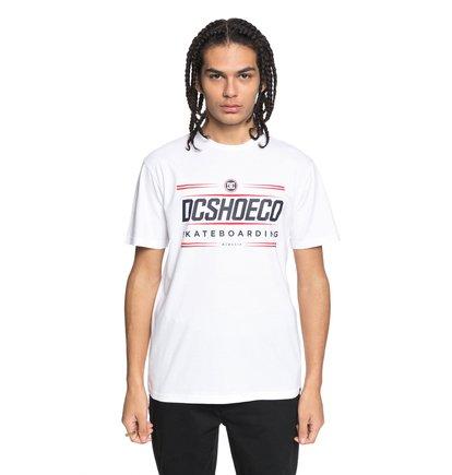 Купить Футболка Four Base - Белый, DC Shoes, 100% хлопок