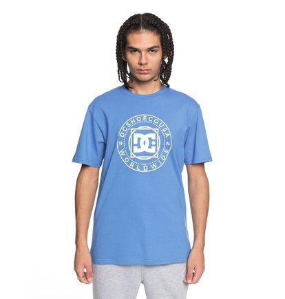 Купить Футболка Endless Frontier - Синий, DC Shoes, 100% хлопок