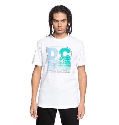 Купить Футболка Sunset Palms - Белый, DC Shoes, 100% хлопок