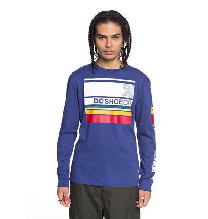 Купить Лонгслив Mad Racer - Синий, DC Shoes, 100% хлопок