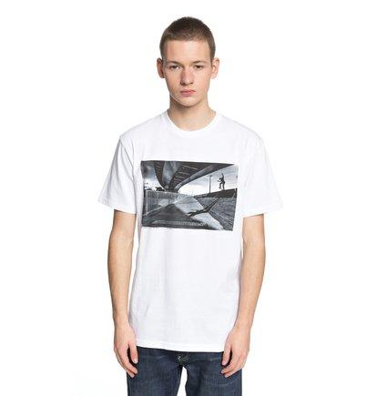 Купить Футболка Wes Switch Blunt - Белый, DC Shoes, 100% хлопок
