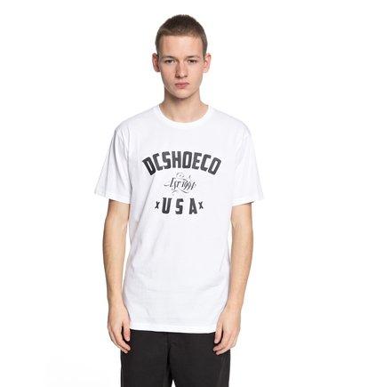 Купить Футболка DC Fusty - Белый, DC Shoes, 100% хлопок