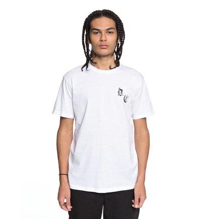 Купить Футболка DC Sugihara Battle - Белый, DC Shoes, 100% хлопок