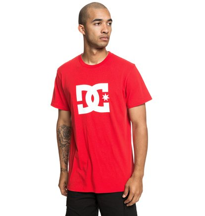 Star - T-shirt pour Homme - Rouge - DC Shoes