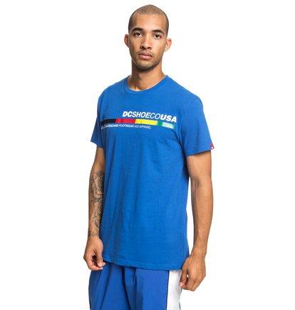 """Imagen de """"4Stripe Camiseta para Hombre Azul DC Shoes"""""""