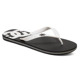 Chaussures Dc Hommes Spray Thongs - Noir - 44,5 Eu