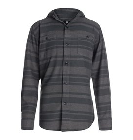 STRIPPER FLANNEL WVN HOODY  50464053