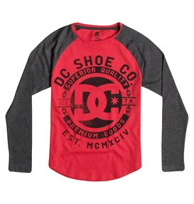 CHAIN GRAPHIC RAGLAN Red 50664024
