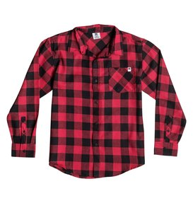 PEAK WOVEN SHIRT Red 50664112