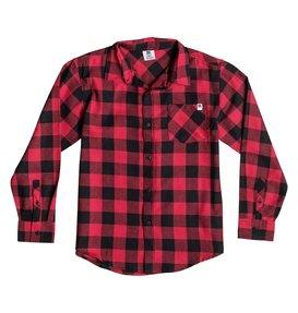 PEAK WOVEN SHIRT Red 50664112