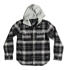 Runnels Flannel - Hooded Long Sleeve Shirt  ADKWT03000