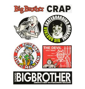 Big Brother - Sticker Pack ADYAA03037