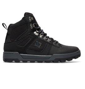 dc shoes Woodland - Scarponcini allacciati da Uomo - Black - DC Shoes