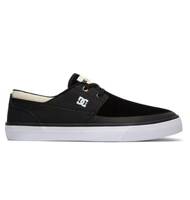 2017 Fashion Latest Classic Mens DC Shoes WES KREMER M SHOE XKSW Black / Grey / White ncx 29835