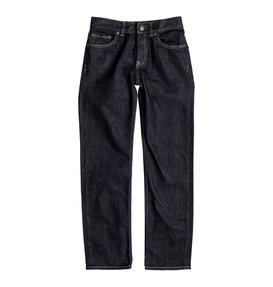 Worker Indigo Rinse - Straight Fit Jeans  EDBDP03034