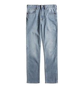 Worker Light Indigo Bleach Slim - Slim Fit Jeans  EDBDP03043