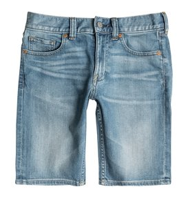Washed Straight - Denim Shorts  EDBDS03005