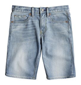 Worker Light Indigo Blue - Denim Shorts  EDBDS03014
