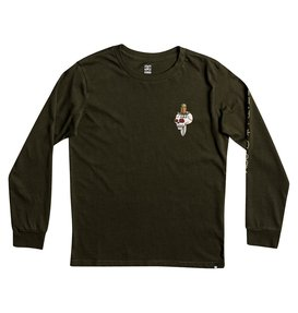 Death & Glory - Long Sleeve T-Shirt  EDBZT03245