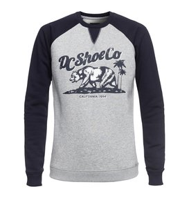 Bear And Palms Raglan - Sweatshirt  EDJSF03015