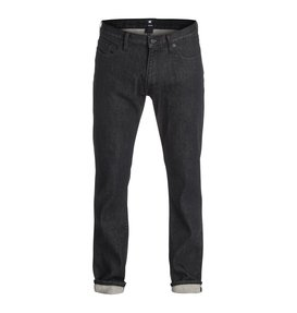 Worker Basic Straight Jean Black Rinse 32  EDYDP03080