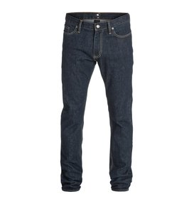 "Worker Basic Slim Indigo Rinse 34"" Inseam Jean  EDYDP03124"