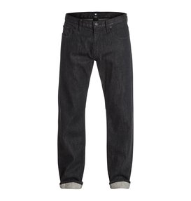 "Worker Basic Roomy Black Rinse 34"" Inseam Jean  EDYDP03133"