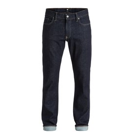 "Worker Straight Fit Indigo Rinse 32"" - Jeans  EDYDP03180"