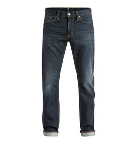 Washed Dark Stone - Straight Fit Jeans  EDYDP03260