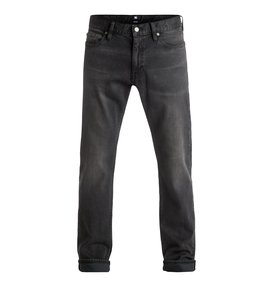 Washed Medium Grey - Straight Fit Jeans  EDYDP03298