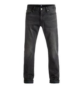 Washed Medium Grey - Straight Fit Jeans  EDYDP03298