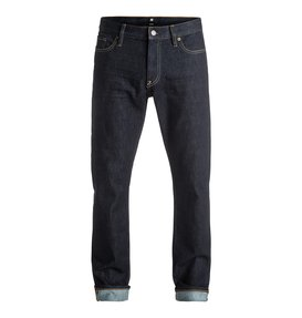 Worker Indigo Rinse - Straight Fit Jeans  EDYDP03304