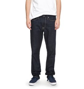 Worker Indigo Rinse Straight - Straight Fit Jeans  EDYDP03324