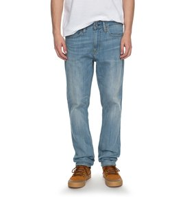 Worker Light Indigo Bleach Slim - Slim Fit Jeans  EDYDP03334