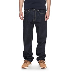 Worker Indigo Rinse Relaxed - Relaxed Fit Jeans  EDYDP03336
