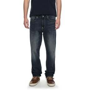 Worker Medium Stone Straight - Straight Fit Jeans  EDYDP03339
