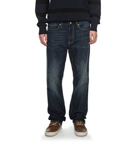 Worker Dark Stone Straight - Straight Fit Jeans  EDYDP03340