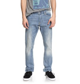 Worker Light Indigo Blue - Slim Fit Jeans  EDYDP03363