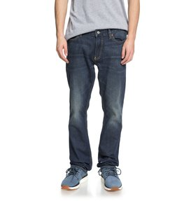 Worker Medium Stone - Straight Fit Jeans  EDYDP03365
