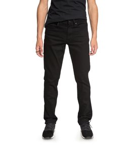 Worker Black Rinse - Straight Fit Jeans  EDYDP03367