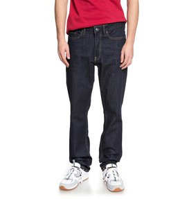 Worker Indigo Rinse - Straight Fit Jeans  EDYDP03370