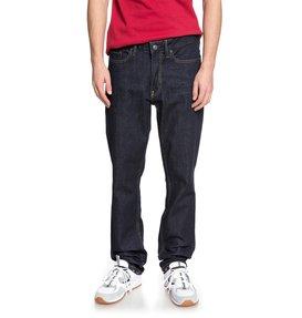 Worker Indigo Rinse - Straight Fit Jeans  EDYDP03370