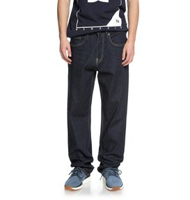 Worker Indigo Rinse - Relaxed Fit Jeans  EDYDP03371