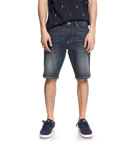 Worker Medium Stone - Denim Shorts  EDYDS03029