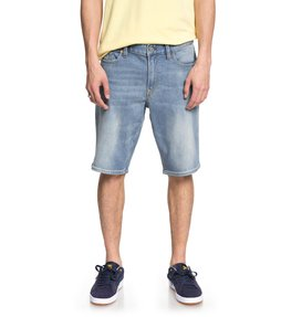 Worker Light Indigo Blue - Denim Shorts  EDYDS03035