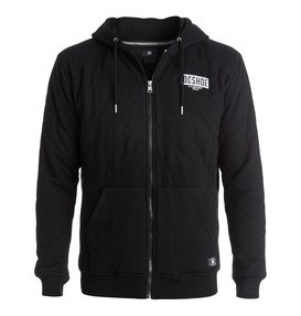 Halibrent - Quilted Zip-Up Hoodie  EDYFT03108