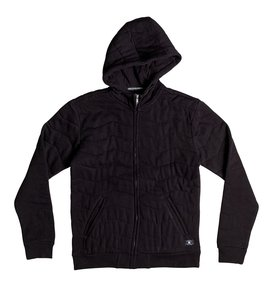 Warburton - Quilted Zip-Up Hoodie  EDYFT03215